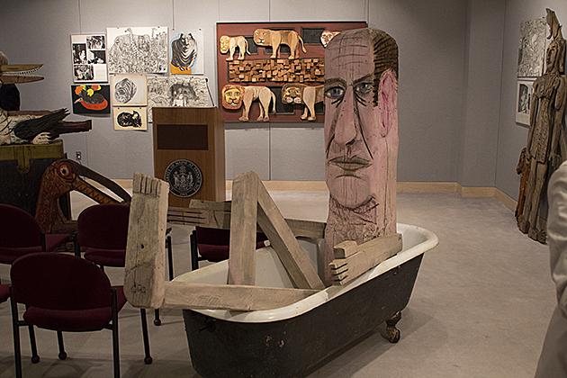 Umpi Now The Hot Spot For Art From Maine Sculptor Bernard