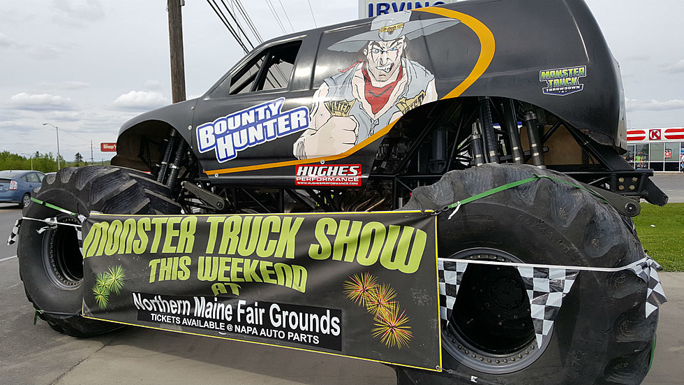 The Monster Truck Show In Presque Isle [PHOTOS]